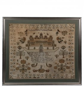Large Format English Sampler - Poetry And Pictorial