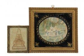 (2) Framed Memorials - Both In Memory Of Elizabeth,
