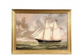 Joseph B. Smith (ny/nj, 1798-1876) - Marine Portrait Of