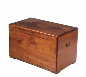 Sailor's Storage Chest - 19th C. American Trunk In