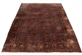 "Sarouk Carpet - 9' X 11'10"" - West Persia, Second"