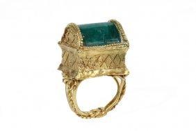 Lady's Ring - Rare Greek, Circa 1st Century Bc, 22k Or