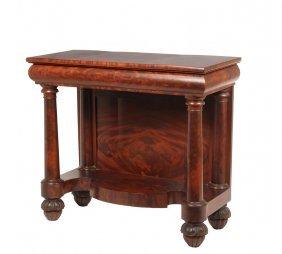 Classical Pier Table - American Federal Period, Hall