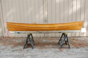 Wooden Double Ended Pulling Boat - St. Lawrence