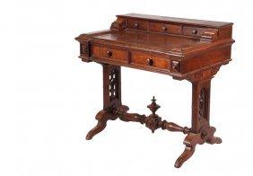 Victorian Lady's Desk - American Red Walnut Diminutive