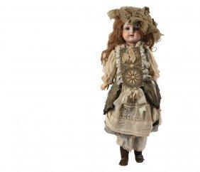 "Steiner Walking Doll - 20"" French Walking Bebe By Jules"