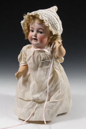"21"" Kammer & Reinhardt Bisque Doll - Early 1900s German"