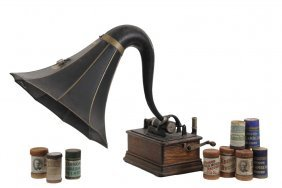 Edison Phonograph - Model D Cylinder Phonograph With