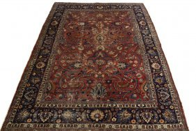 "Meshed Carpet - 8'8"" X 11'9' - Northeast Persia, Second"
