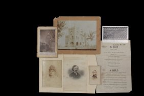 Civil War Telegraph Operator's Memorabilia - Papers And