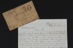 A Soldier's Letter From Occupied Mexico City, 1847 -