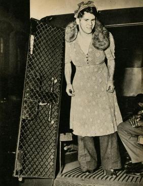 Weegee [arthur H. Fellig] - Burglar Disguised As A