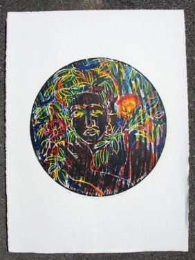 DAVID C. DRISKELL - Color Woodcut