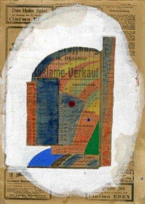 YURI PAVLOVICH ANNENKOV - Mixed Media On Paper, Mo