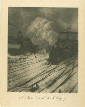 Alfred Stieglitz - Original Vintage Photogravure