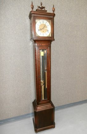 Winterhaulder Germany Colonial Mfg 5-tube Clock