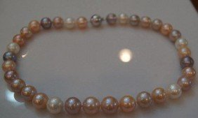 "17"" Strand Of South Seas Cultured Pearls."
