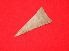 "1 5/8"" Fort Ancient Triangle - KY"