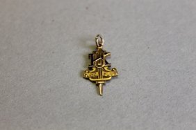 1941 University Of Kentucky Glee Club Pin, Gold Filled,