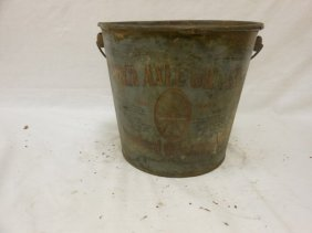 Mica Axle Grease Bucket, Standard Oil Co. Indiana, 10