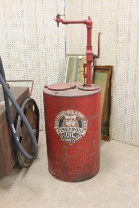 Wayne(?) K&g 1 Standard Oil Company Fireproof Oil For