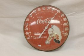 "Sprite Boy Coca-cola Thermometer Marked ""the Original"