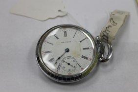 Waltham 16 Size Pocket Watch In Star Watch Case Co.