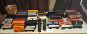 Group Of Lionel Trains
