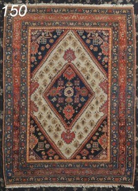 "PERSIAN MALAYER 3'4"" X 4'6""   Shipping Information"