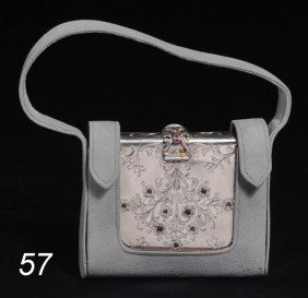 CONTINENTAL .800 SILVER COMPACT Possibly Boucheron,