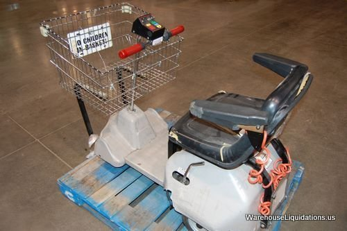 230 Used Cart Mart Electric Shopping Cart Lot 230