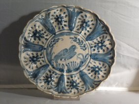 ANTIQUE MAJOLICA CHARGERS, DERUTA 18th. C.