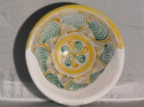 MONTELUPO MAJOLICA BOWL 17th. C.