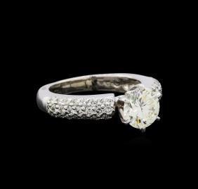 2.10 Ctw Diamond Ring - 14kt White Gold