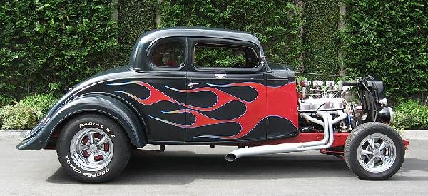 1933 chevy 5 window chopped flamed coupe lot 117a for 1933 chevy 5 window coupe