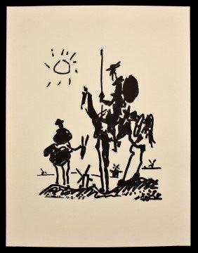 """Pablo Picasso """"Don Quixote"""" Fine Art Print AP68"""