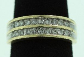 14KT Yellow Gold Diamond Ring A2626