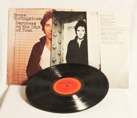 """Bruce Springsteen """"Darkness On The Edge Of Town"""" Vinyl"""