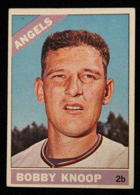 1966 Bobby Knoop Of Angels Vintage Rookie Card C196