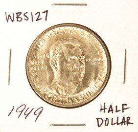 1949 Booker T. Washington Commemorative Half Dollar Coi