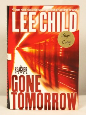 "Autographed Copy Of ""Gone Tomorrow"" BK143"