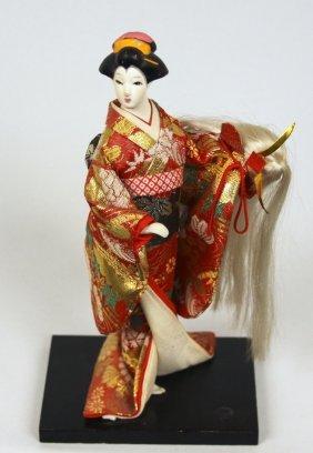 Vintage Japanese Pressed Bisque Doll BD351