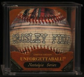 "Unforgettaball! ""Crosley Field"" Nostalgia Series Collec"