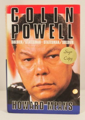 "Autographed Copy Of ""Colin Powell: Soldier/Statesman-St"