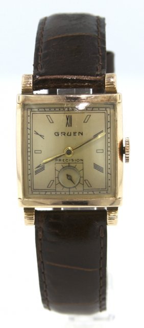 Gruen 14KT Rose Gold Wristwatch WBS101
