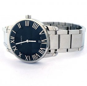 Gents Tiffany And Co Atlas Dome Wristwatch A3560