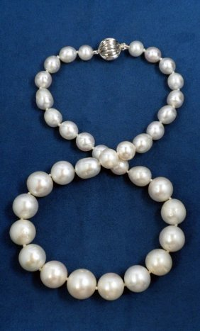 South Sea Cultured Pearl Necklace A3898