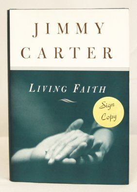"Autographed Copy Of ""Living Faith"" BK79"