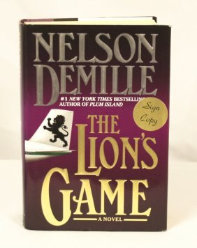 "Autographed Copy Of ""The Lion's Game"" BK11"