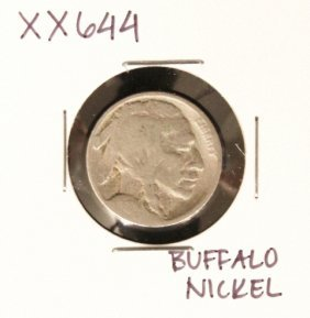 Buffalo Nickel XX644